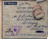 Letter Jan 10th 1942