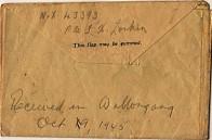 Letter Oct 1st 1945
