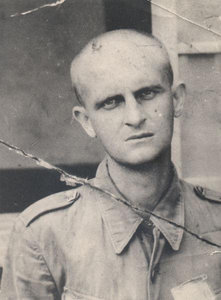 Frank Larkin at Ohamma POW Camp