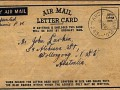 Letter postmarked September 26th 1945