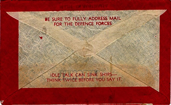Telegram envelope reverse