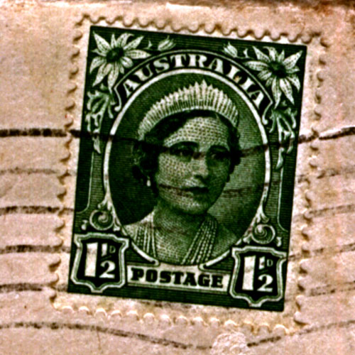 Australian Prisoners of War Relatives' Association Stamp