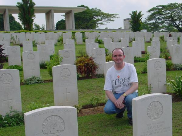 Commonwealth War Grave Kranji Singapore