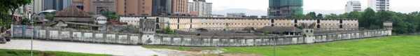 Small panorama of Pudu Gaol Kuala Lumpur